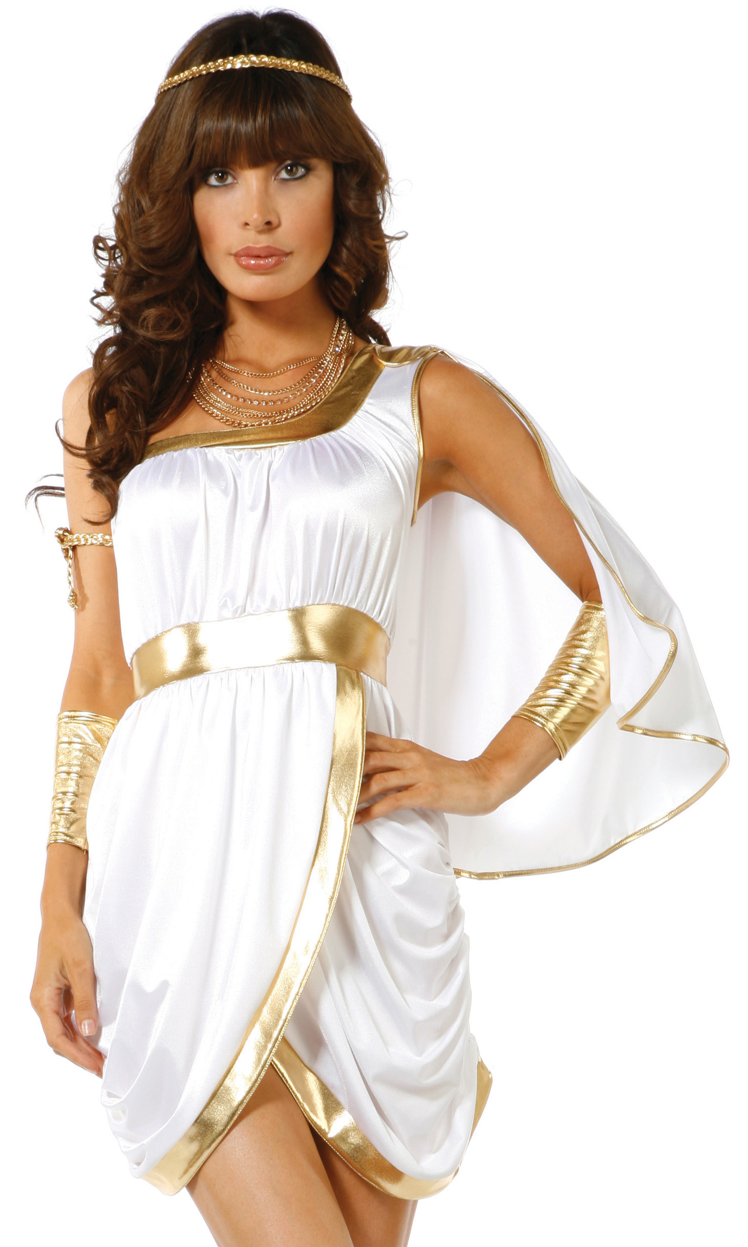 Sexy greek goddess halloween costume