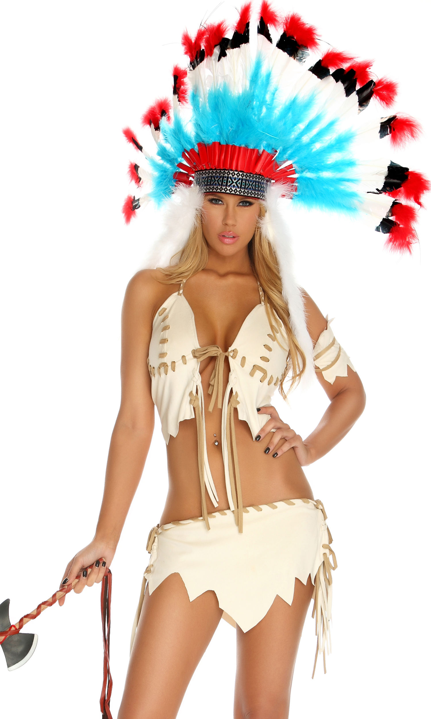 Sexy native indian costume