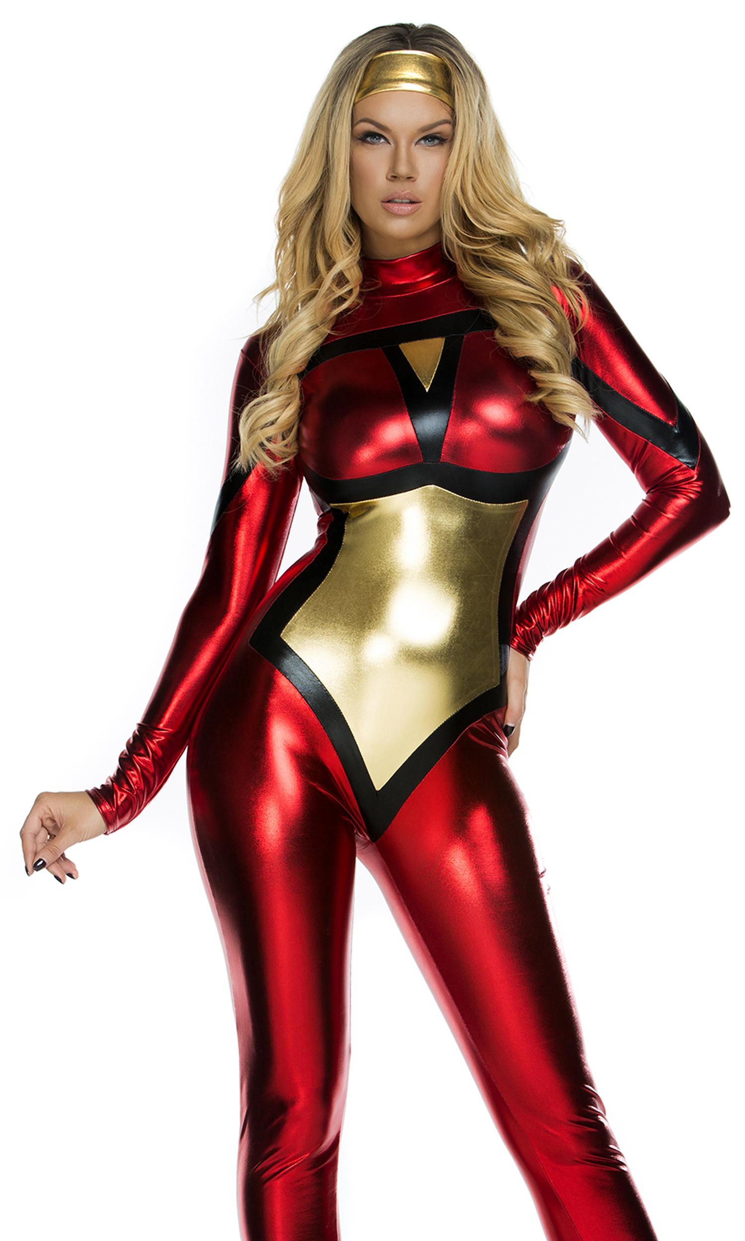 Sexy superhero costumes women naked