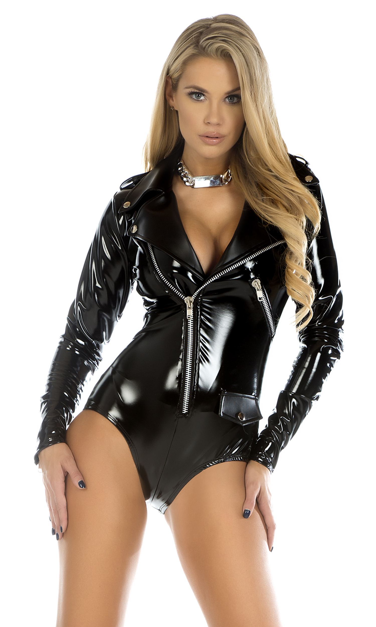 Think, Sexy girls black leather body suits not understand