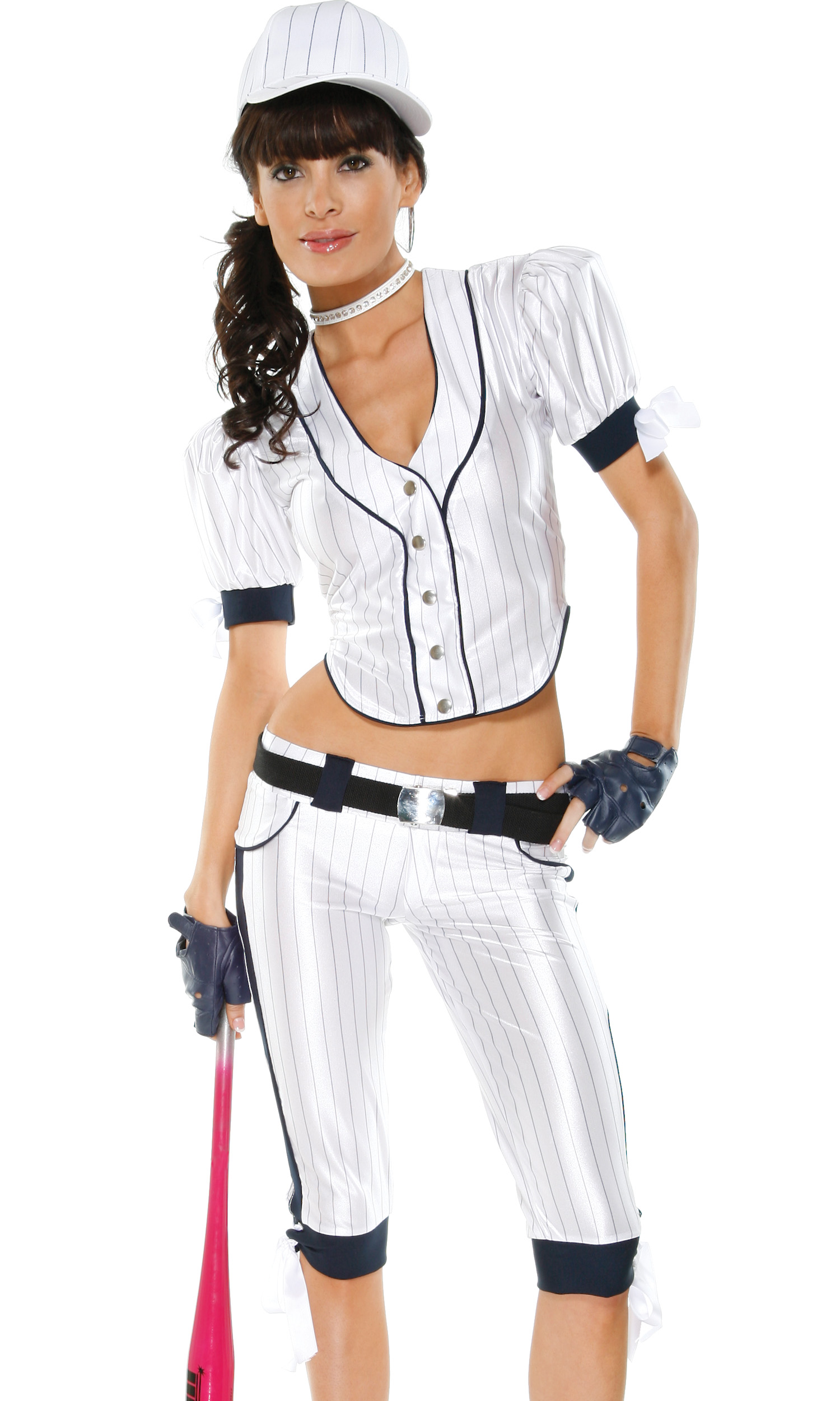 Sexy baseball girl costume