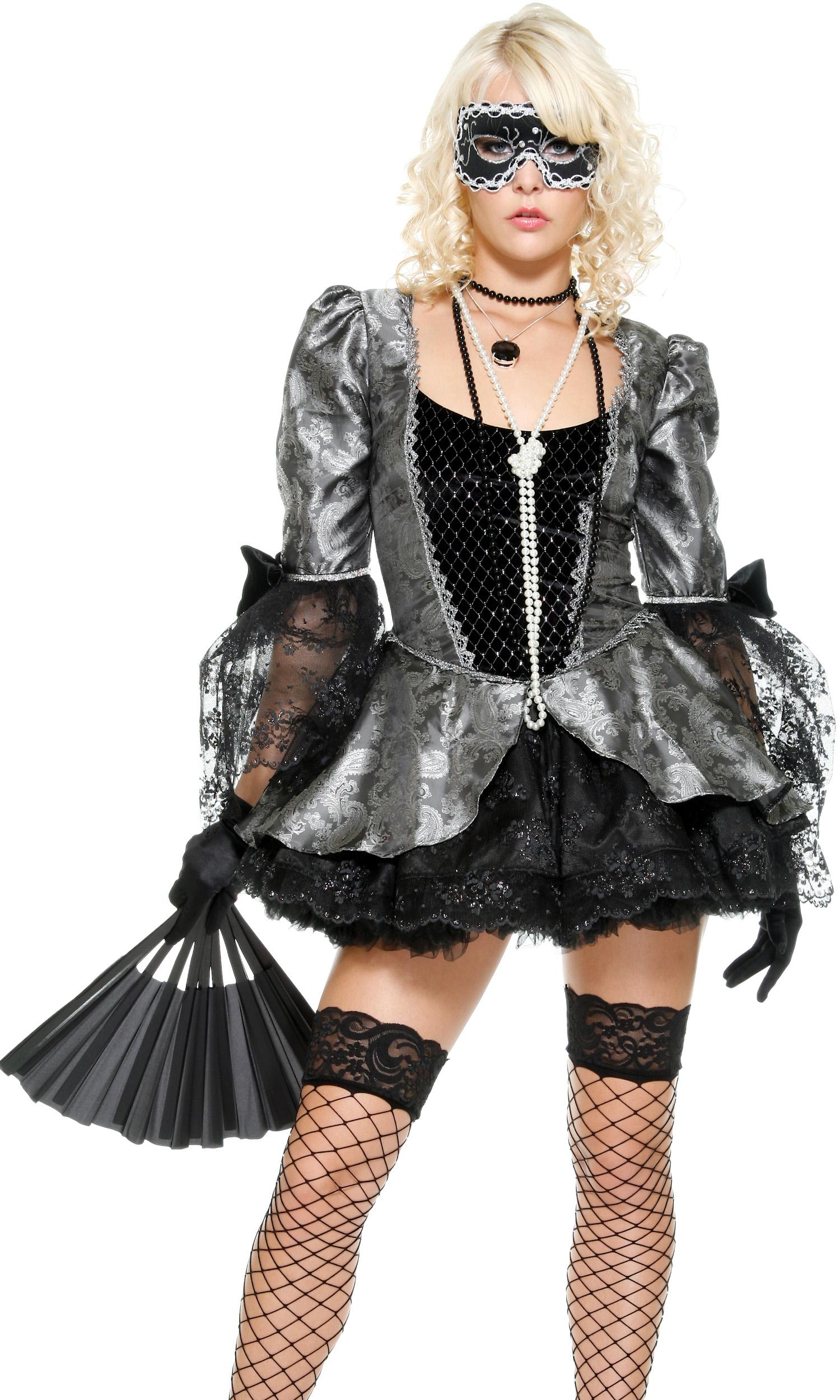 Ballroom Blitz Sexy Masquerade Costume