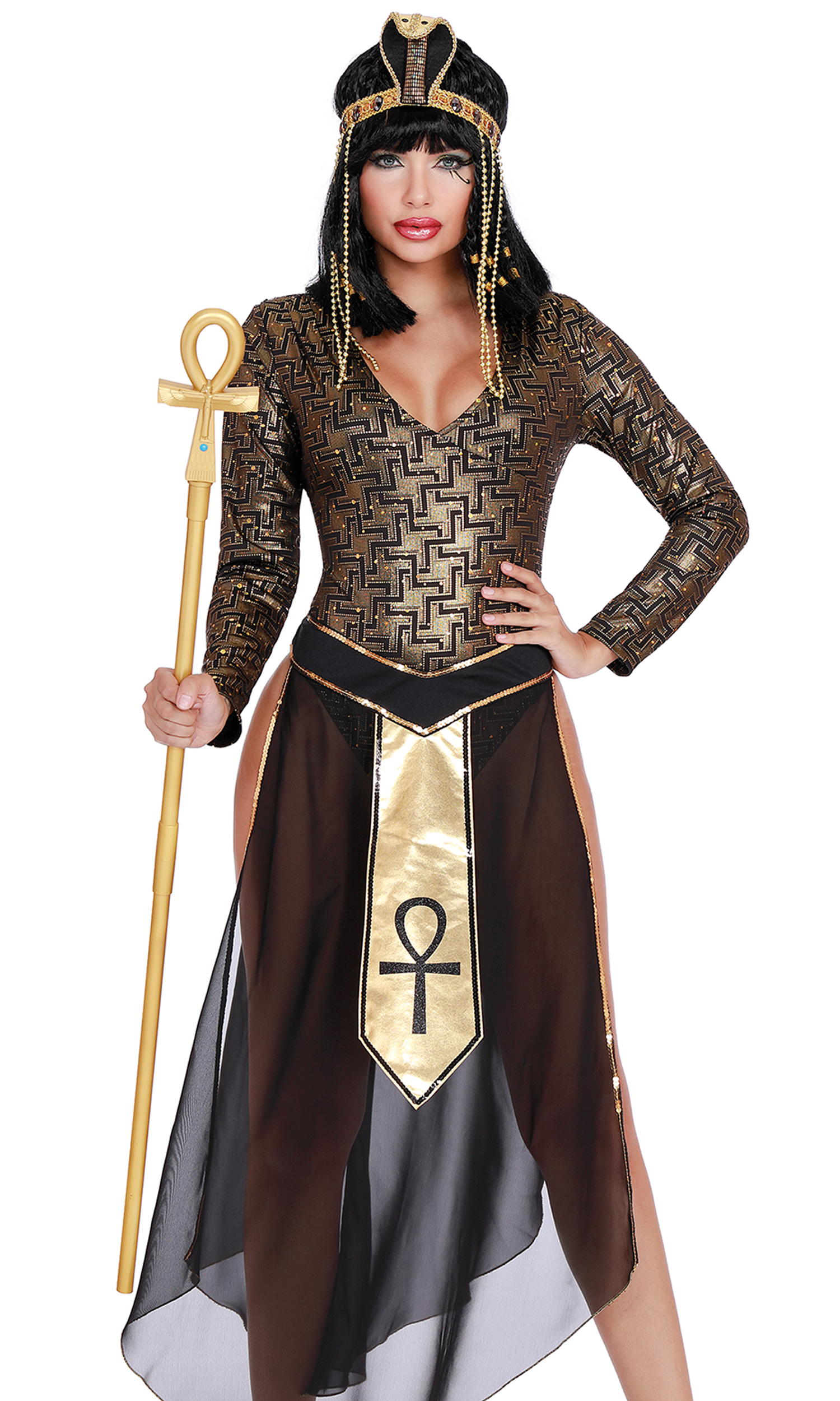 e29c0d46173 Queen Cleo Cleopatra Costume