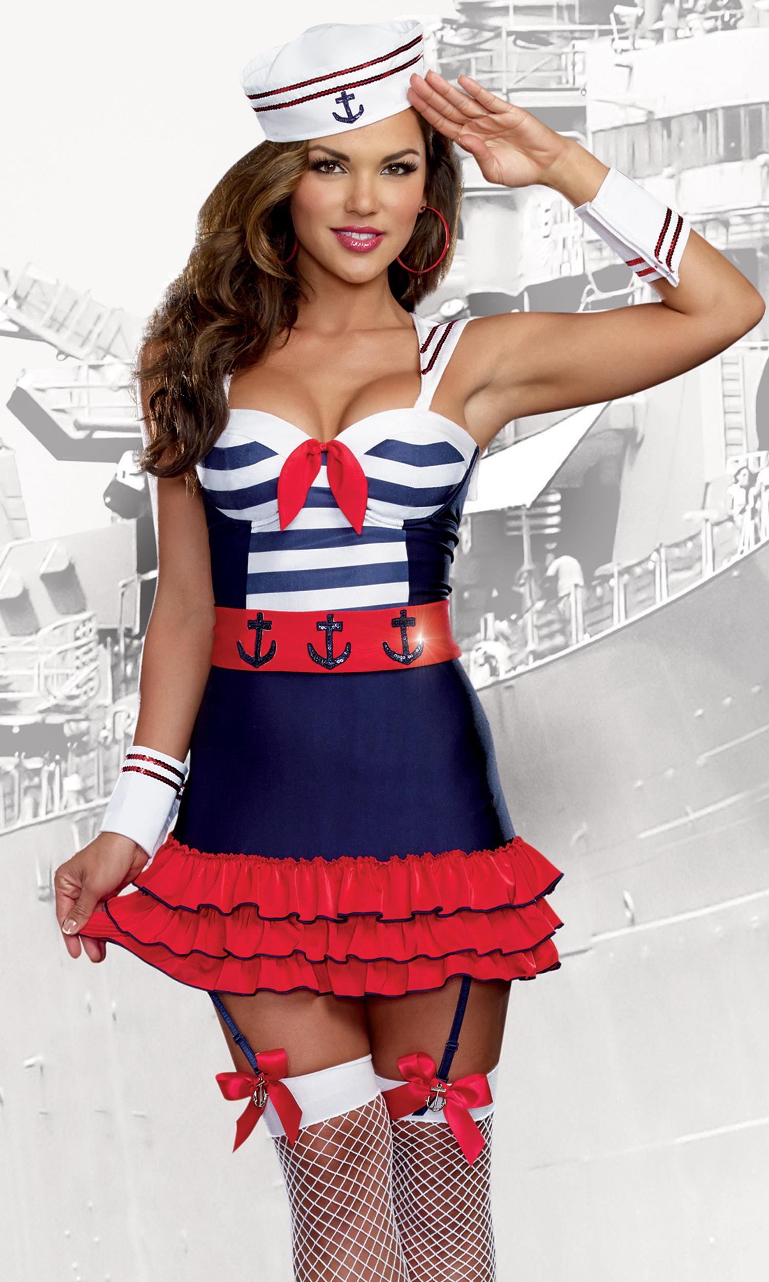 Sexy sailor halloween costumes #10