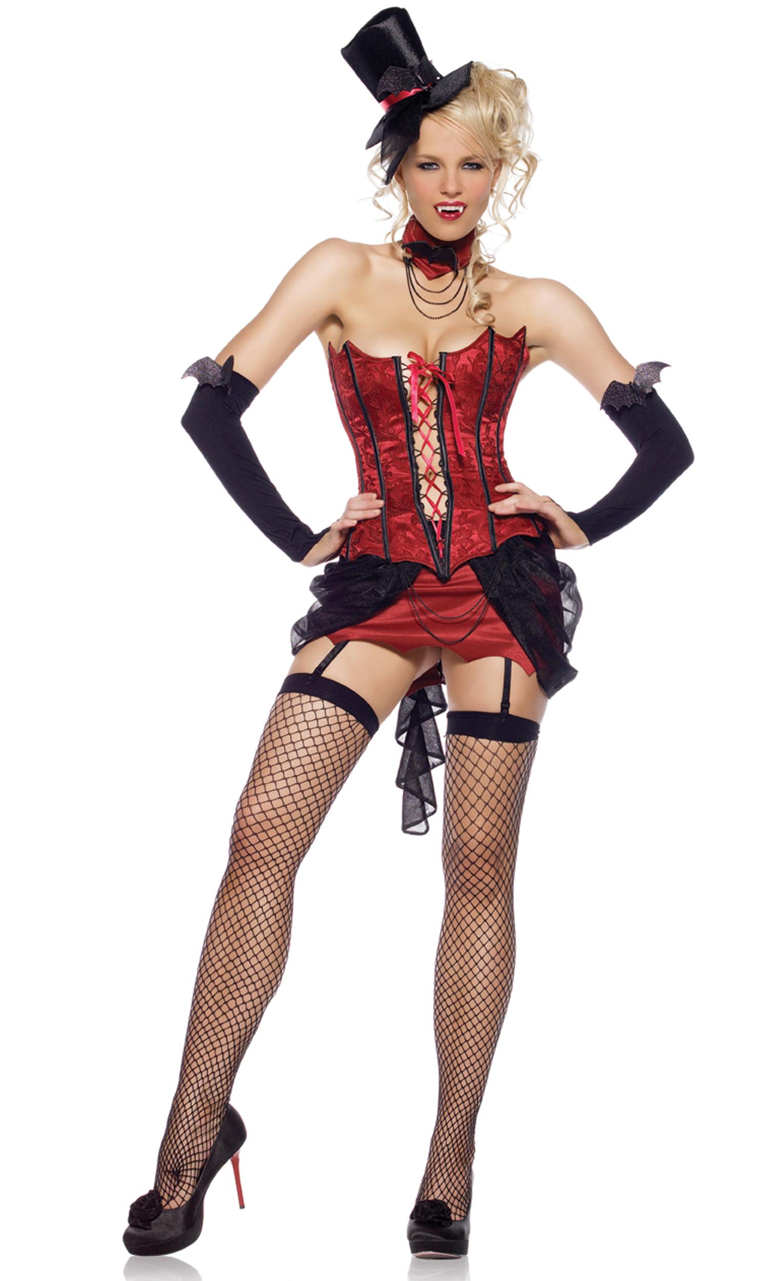 Sexy vampire halloween costume porncraft clip