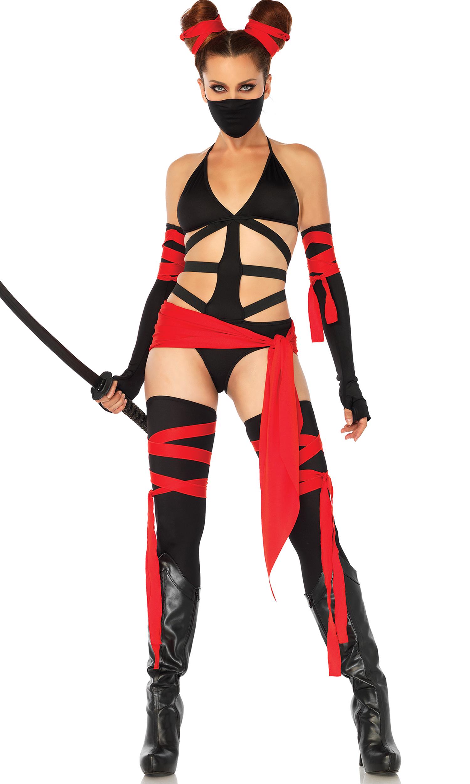 Shop sexy ninja costumes uk