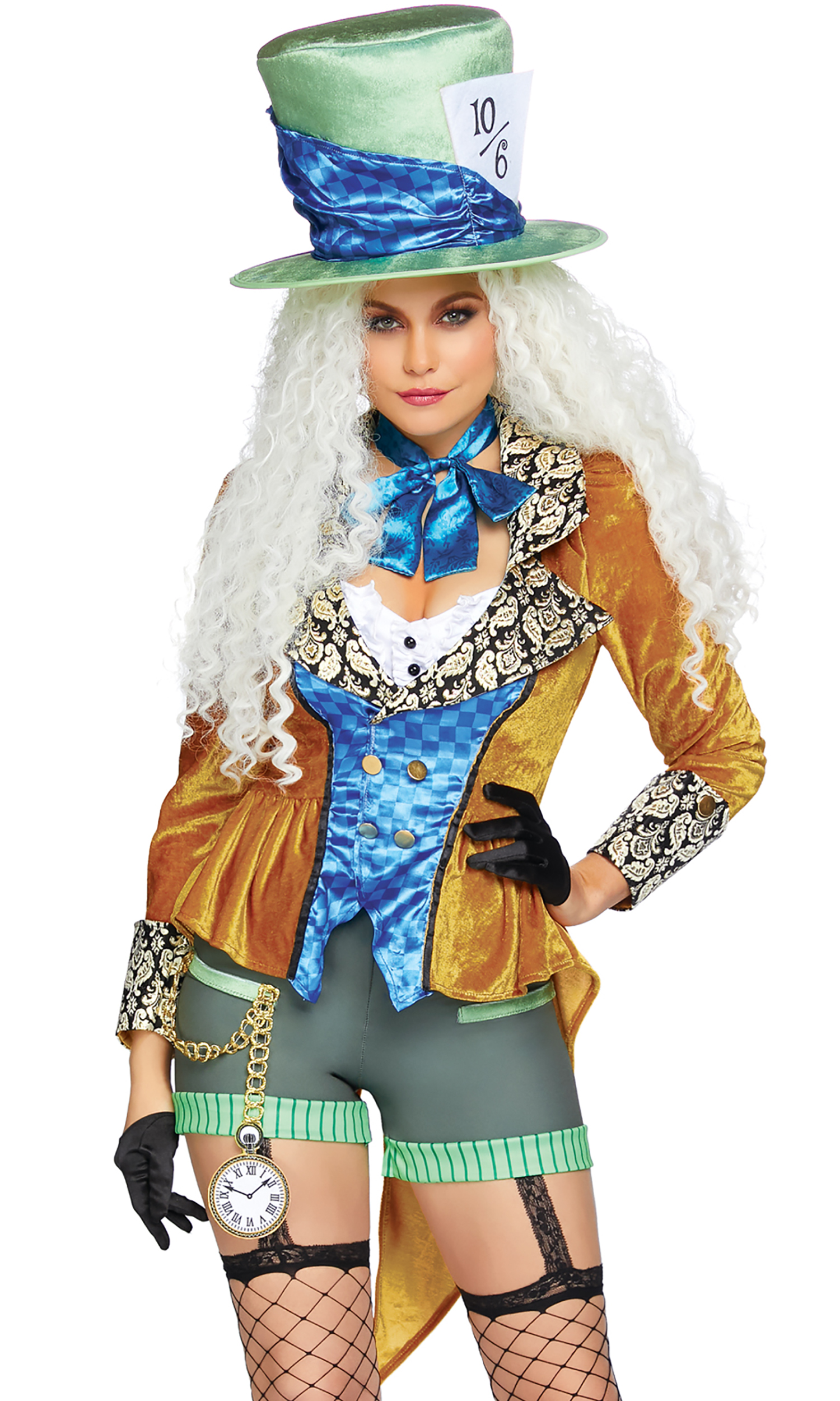 c37996cdd48ec 4pc. Classic Mad Hatter Sexy Costume
