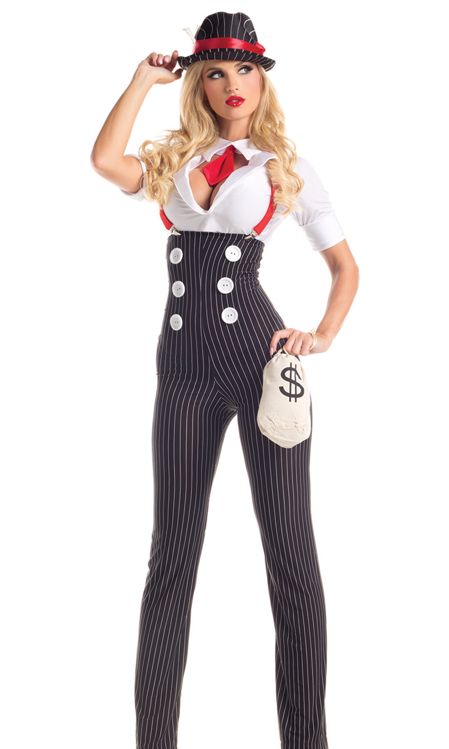 0b53076a8a4 Women s Mobsters   Gangsters Costumes