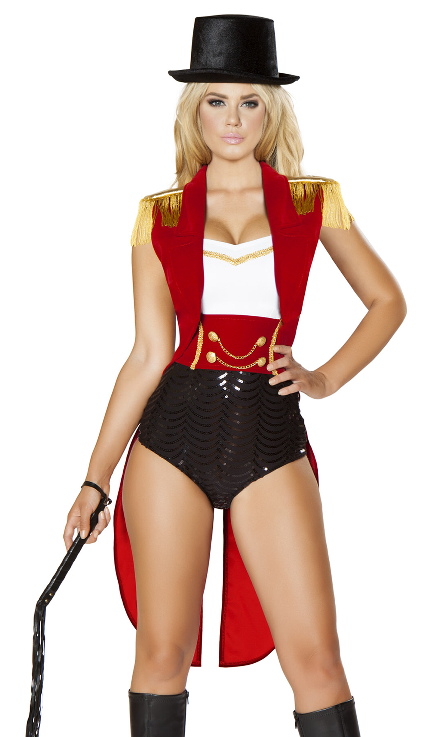 5pc Sexy Lion Tamer Costume