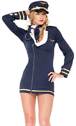 Mile High Maiden Sexy Pilot Costume