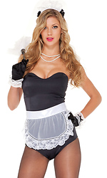 Wipe Me Down Sexy French Maid Costume