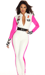 Seductive Speed Sexy Race Car Driver Costume by Forplay