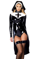 Saintlike Seductress Sexy Nun Costume
