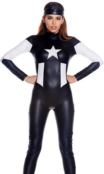 darque domination sexy superhero costume