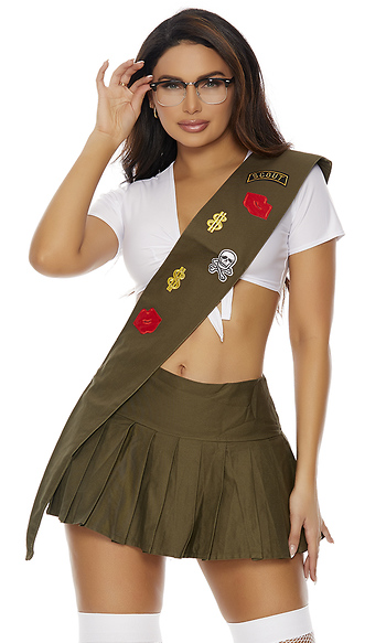 forplay got cookies girl scout costume