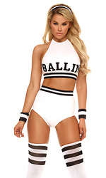 Sexy Star Women's Basketball Player Costume
