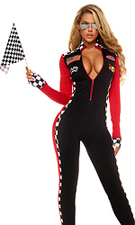 Women's Top Speed Racer Costume