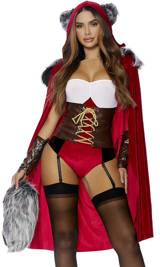 Sexy red riding hood pictures