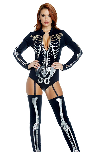 7f1290525cc Skeleton Costumes for Women - Adult Skeleton Costumes - Sexy Skeletons