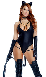 Untamed Sexy Cat Costume