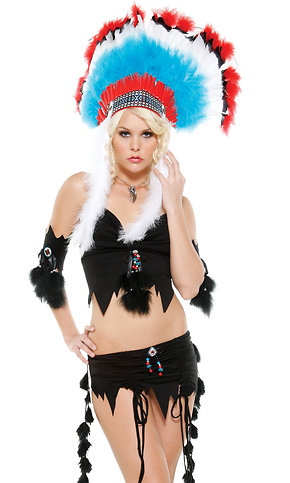 372a1fe94 Shop Native American Indian Girl - Sexy Halloween Costume by Forplay ...
