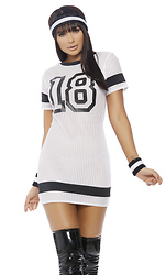 I Stay Winning Dress Sexy Football Costume
