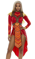 Wakanda Forever Epic Warrior Sexy Comic Book Character Costume