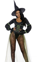 Westside Wicked Sexy Witch Costume