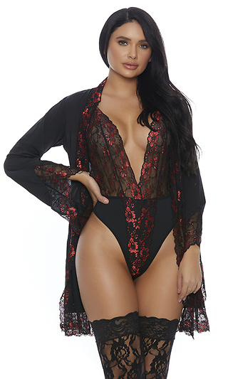 376ab7414e3 Silky Seductress Robe