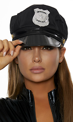 Adjustable Police Hat with Badge