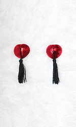 What A Tassel Heart Pasties
