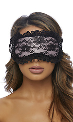 Pretty In Pink Blindfold