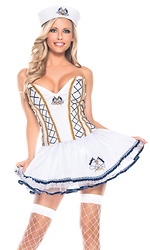 2 Piece Naughty Sailor Sexy Costume