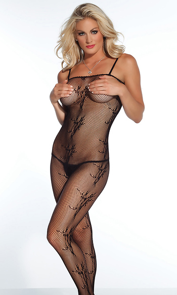 6746e4a3d0 PrevNext. Description. Be naughty and provocative in our sexy 1 piece Fishnet  bodystocking with elastic ...
