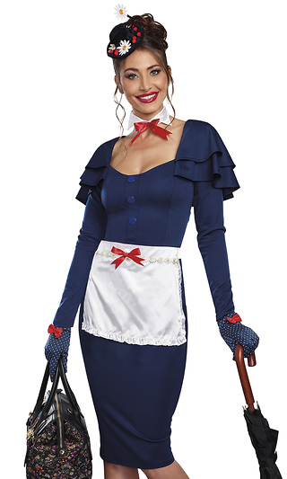 e75a2e9813 The Governess Vintage Nanny Women s Costume Set