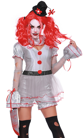 6e9500117c8 Wicked Clown Movie Character Costume