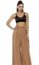 Wide With Me Palazzo Pants