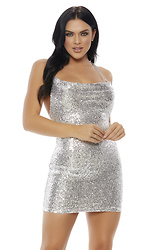 All That Glimmers Sequin Dress