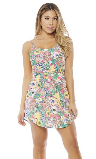 Flower Play Mini Dress