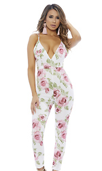 To the Floral Jumpsuit