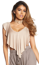 Like It Ruffle Crop Top
