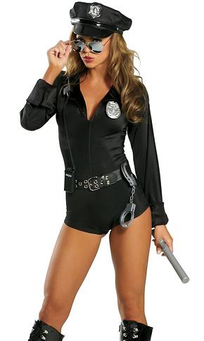 4bbdde8f42d 7Pc. Lady Cop Sexy Costume