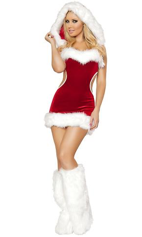 1pc Sexy Claus Costume