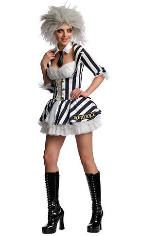 Movie Character Costume Adult Female Beetlejuice Costume