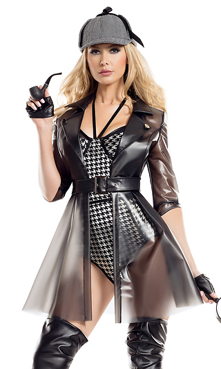 4265d39a6cf Ms. Private Investigator Sexy Character Costume